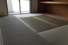 賃貸マンションの畳の表替えと襖張り替え