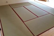 畳の表替えと襖の張り替え