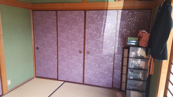 春日市のM様邸戸襖の張り替えのサムネイル