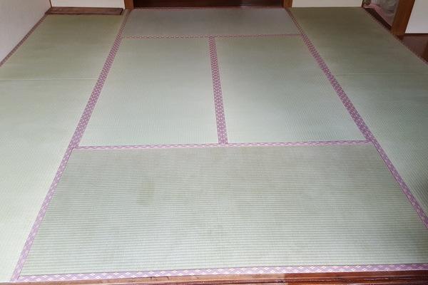 畳表替えと襖張り替え