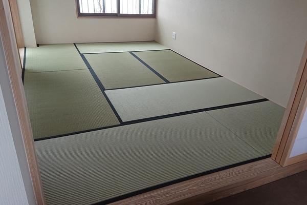 糸島市志摩町の別荘の畳の新調