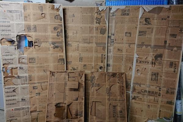 大野城市瓦田戸建住宅の襖貼り替え