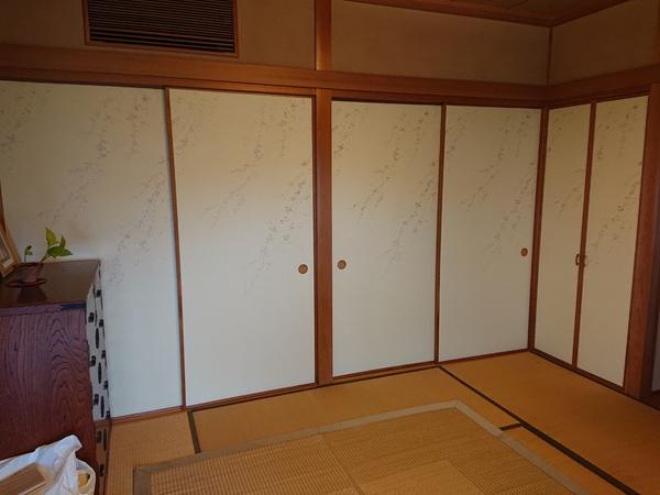 福岡県大野城市のK様邸の襖の張り替えのサムネイル