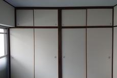 福岡市博多区博多駅南の賃貸物件の襖張り替え